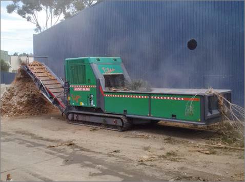 JENZ is delivering biomass processor event to Australia