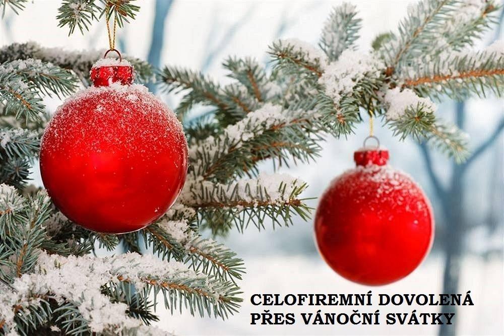 Celofiremní dovolená přes vánoční svátky