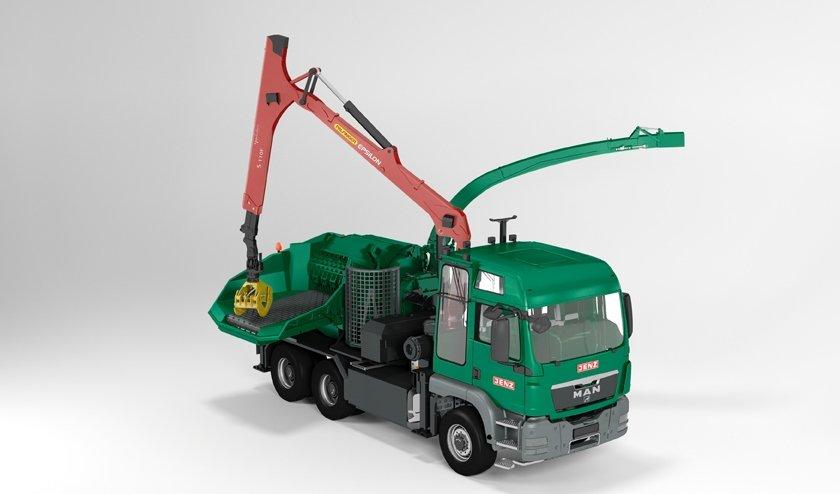 JENZ HEM 593 R-Truck