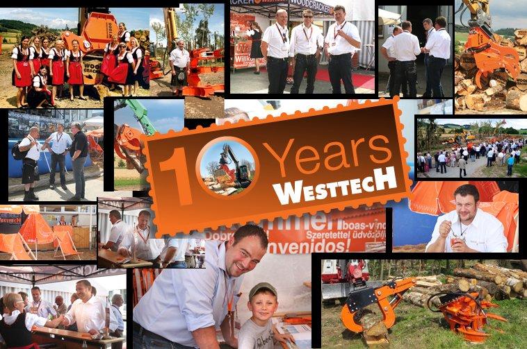 WESTTECH hat 10 Jahrestag gefeiert