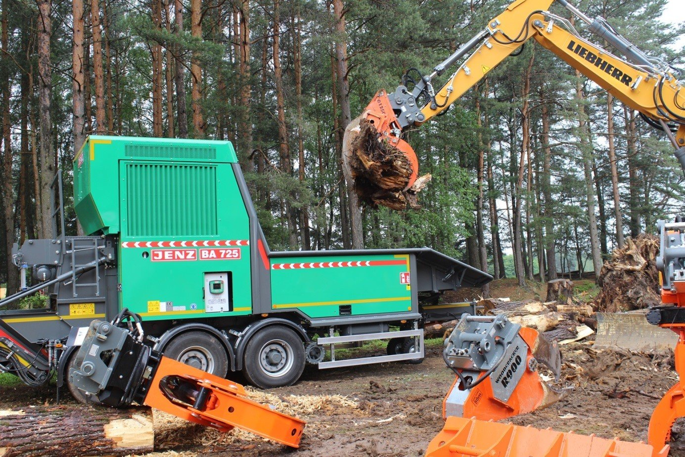 Lesnický veletrh KWF v Bavorsku