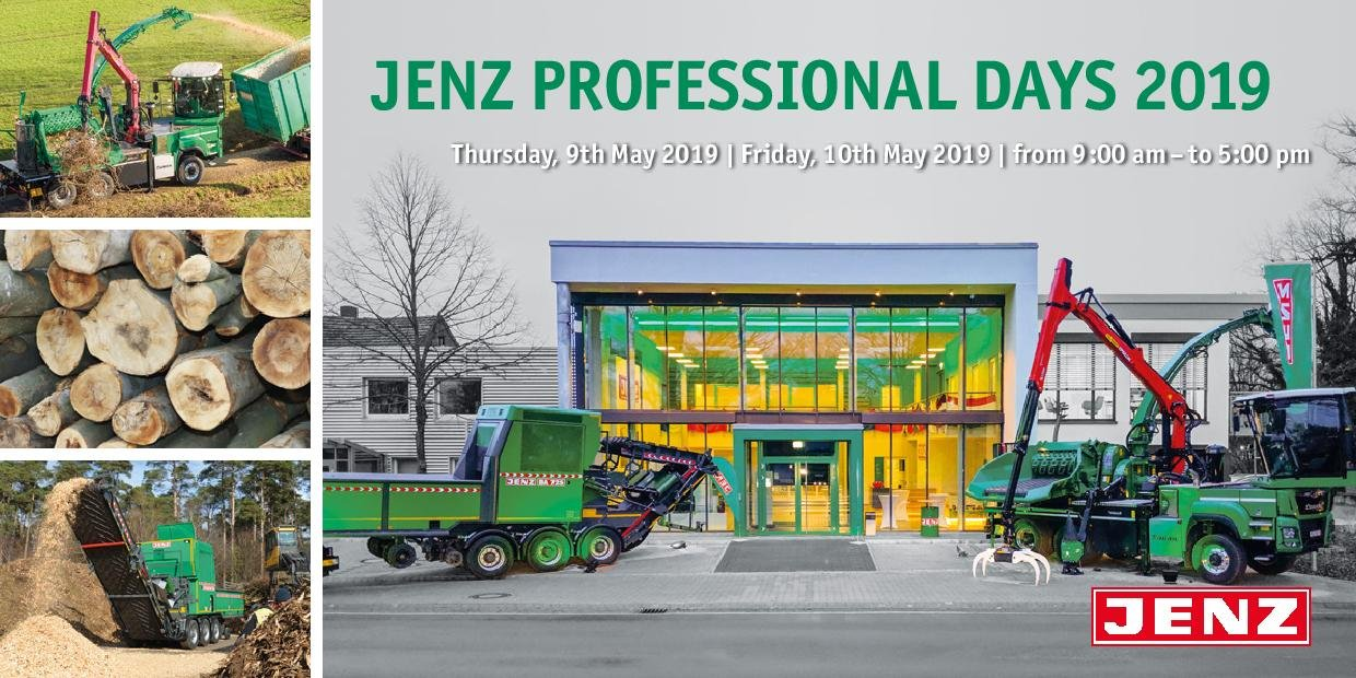 "Invitation to the ""JENZ Professional Days"""