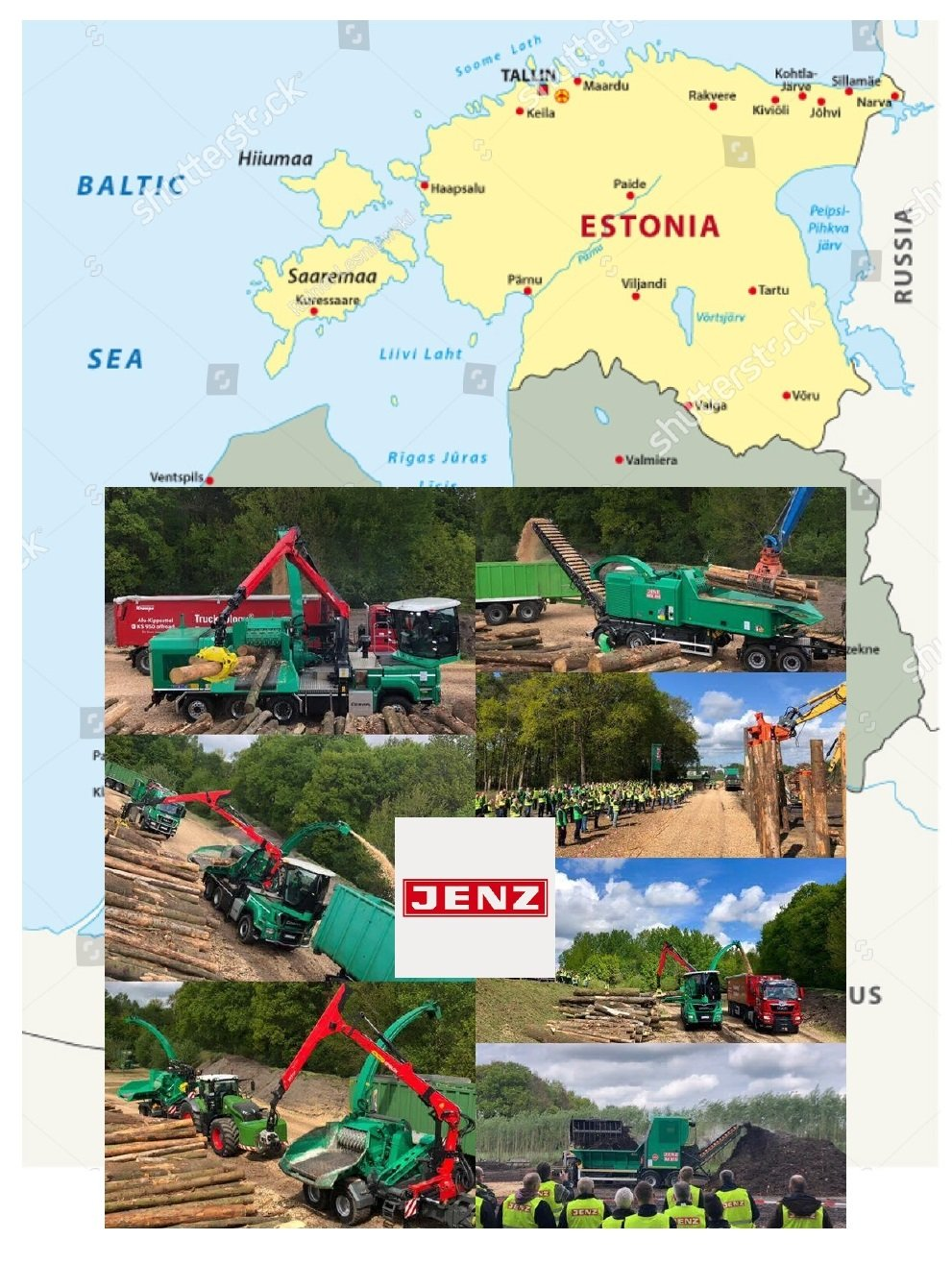 Estonia: a lot of heat generated from woody biomass